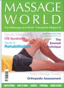Massage World Spring 2014